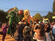 Parade des caravaniers, Gyumri