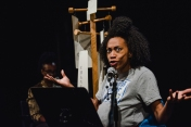 Lecture de la pièce Silence Photo: Maude Touchette